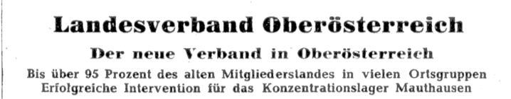 Ausschnitt des Artikels im neuen mahnruf zur Vereinsgründung in Oberösterreich