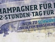 Demo gegen den Burschenbundball Linz