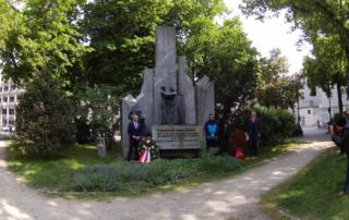 Gedenken der Opferverbände und Bürgermeister Klaus Luger am 5. Mai 2020