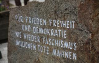 Gedenkstein in Braunau/Inn